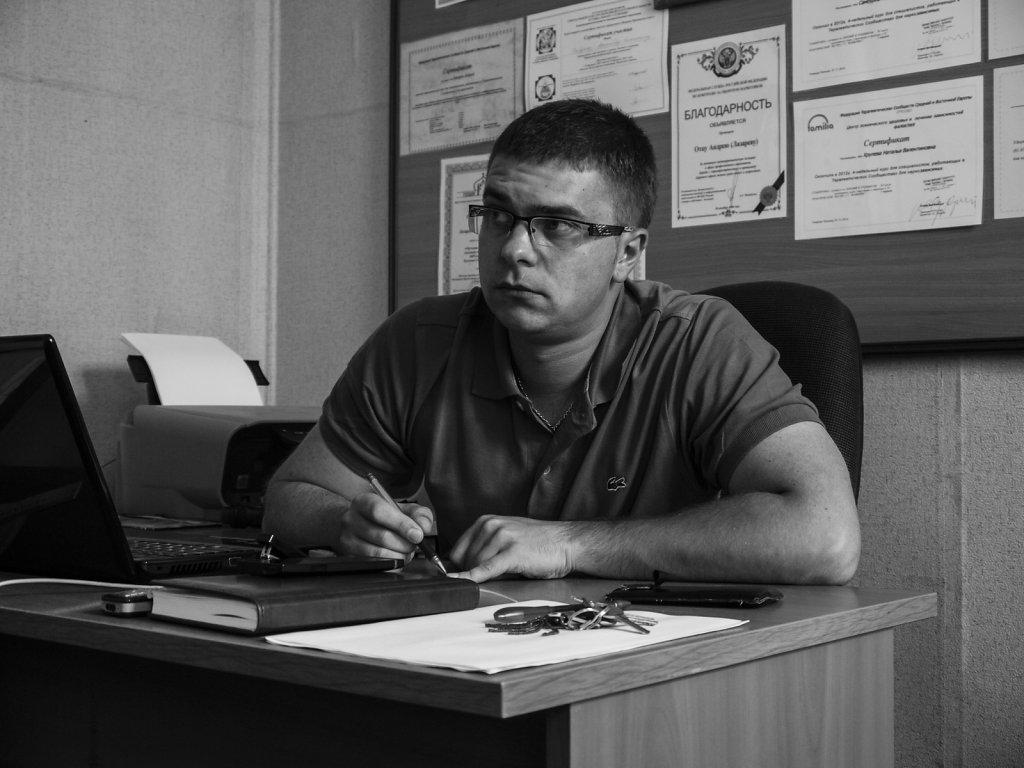 Андрей Вишняков, соруководитель центра